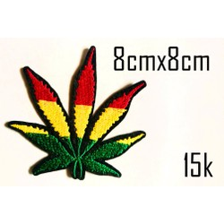 Sticker vải Rasta 119