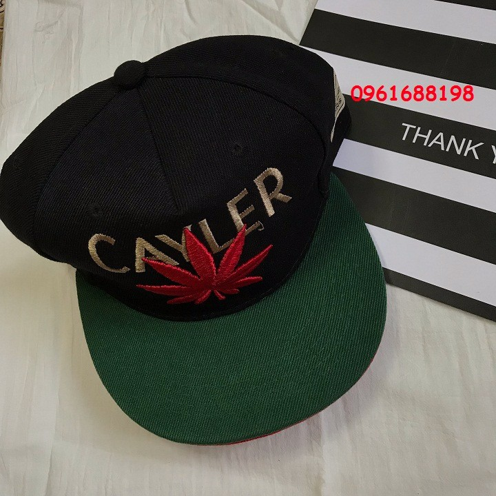 Mũ snapback Cayler Cannabis 2
