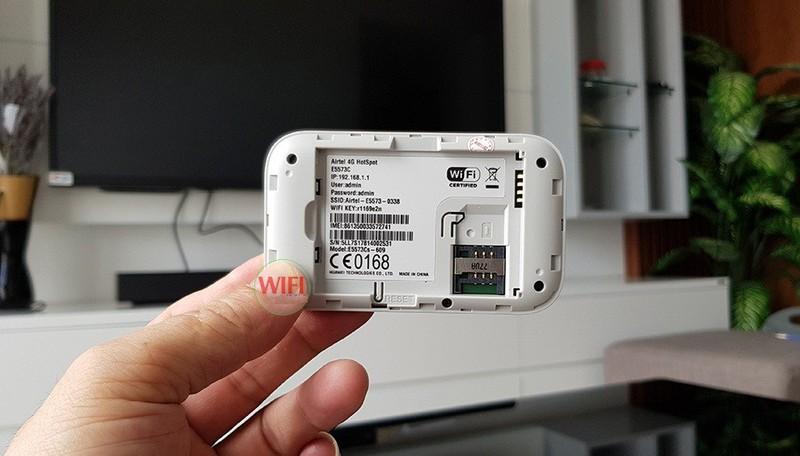 Thiết bị phát wifi 3G 4G PKCB Huawei E5573Cs-609 Tốc Độ Cao 9