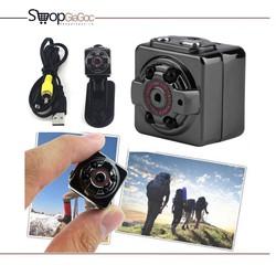 [BẢO HÀNH 3 THÁNG] Camera Hành Trình Đi Phượt Mini SQ8 DV 1080P