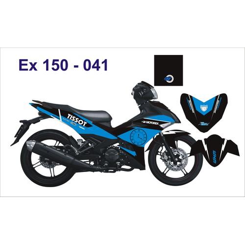 Tem Xe Decal EXCITER 150 Đen Xanh Đồng Hồ - 5748863 , 9744918 , 15_9744918 , 300000 , Tem-Xe-Decal-EXCITER-150-Den-Xanh-Dong-Ho-15_9744918 , sendo.vn , Tem Xe Decal EXCITER 150 Đen Xanh Đồng Hồ