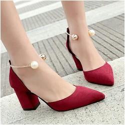 giày cao gót quai choáng ngoc