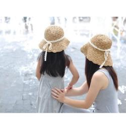 mũ cặp mẹ và bé cao cấp, nón cặp mẹ và bé, mũ cặp mẹ- con, nón đi biển