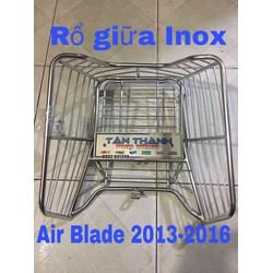 Rổ giữa Inox AB 2013-2016-ko cần Baga giữa