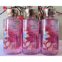 Sữa tắm Bath and Body Works Amber Blush Shower Gel 295mL