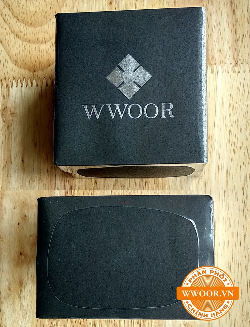 Đồng hồ nam WWOOR 8019 Vàng chính hãng 7