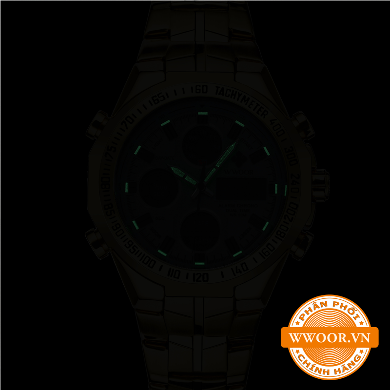 Đồng hồ nam WWOOR 8019 Vàng chính hãng 3