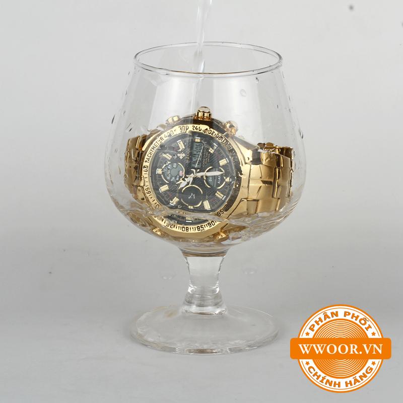 Đồng hồ nam WWOOR 8019 Vàng chính hãng 2