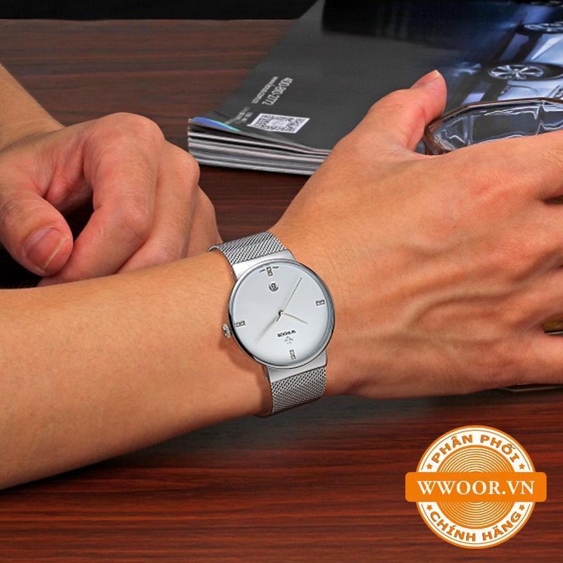 Đồng hồ thời trang nam WWOOR 8018, chính hãng 11
