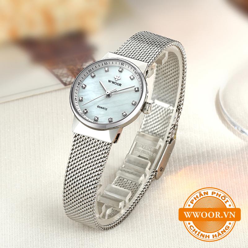 Đồng hồ thời trang nữ WWOOR 8025, chính hãng 3