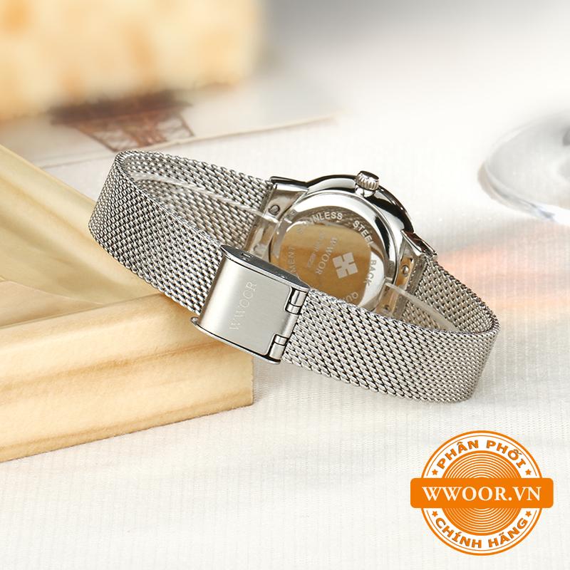 Đồng hồ thời trang nữ WWOOR 8025, chính hãng 6