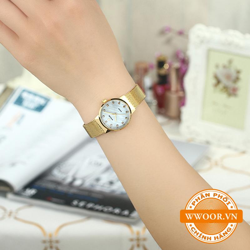 Đồng hồ thời trang nữ WWOOR 8025, chính hãng 8