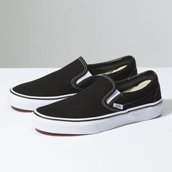 Giày Lười Vnss Đen Nam [Có Ảnh Tự Chụp]