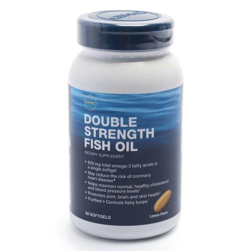 TPCN Hỗ trợ tim mạch GNC Double Strength Fish Oil Chai 90 viên