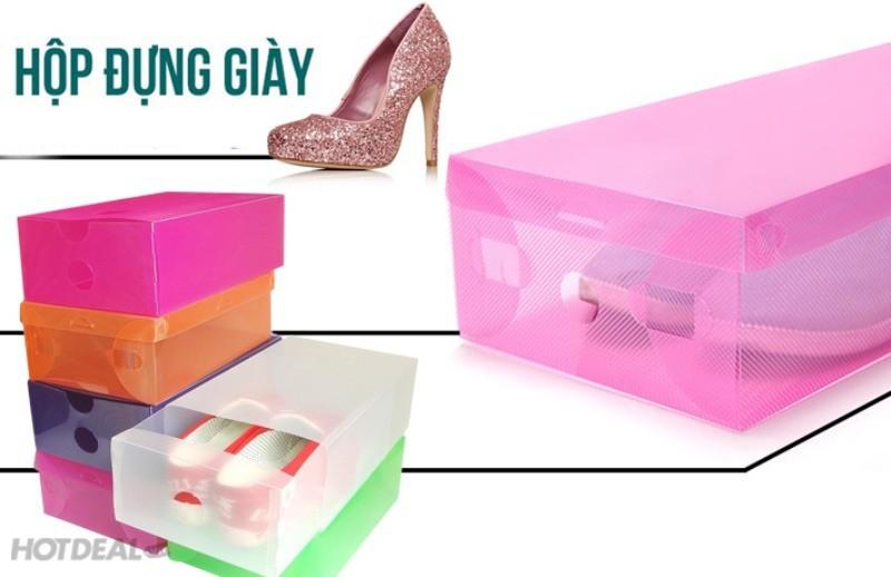 Hộp Đựng Giày Trong Suốt Bảo Vệ Giày Bạn 4