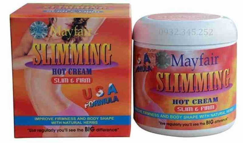 KEM TAN MỠ MAYFAIR SLIMMING HOT CREAM TẢO BIỂN 2