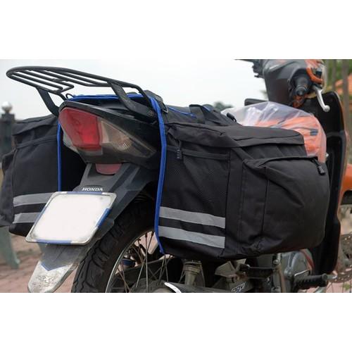Túi đôi gác yên xe máy đi phượt chống mưa - 10613647 , 9746843 , 15_9746843 , 330000 , Tui-doi-gac-yen-xe-may-di-phuot-chong-mua-15_9746843 , sendo.vn , Túi đôi gác yên xe máy đi phượt chống mưa