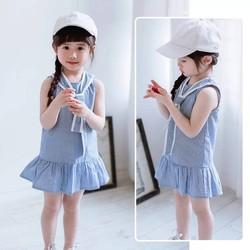 Váy thiết kế sành điệu đáng yêu cho bé gái.