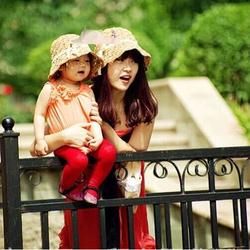 mũ cặp đôi mẹ và bé cao cấp, nón cặp mẹ và bé, mũ cói cho mẹ con