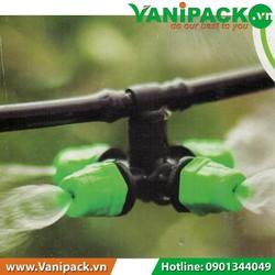 Bộ phụ kiện tưới phun sương 4 cửa Kanok 9015-S4