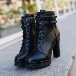 Giày boots nữ B0114