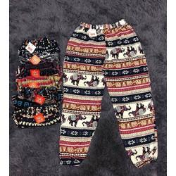 quần lanh nữ bom gấu