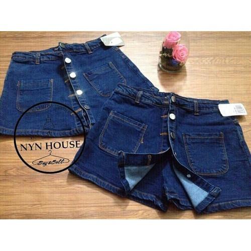 chân váy jeans 5 cúc - 5763581 , 9770317 , 15_9770317 , 210000 , chan-vay-jeans-5-cuc-15_9770317 , sendo.vn , chân váy jeans 5 cúc
