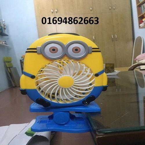 quạt sạc hình minion - 5763606 , 9770437 , 15_9770437 , 131000 , quat-sac-hinh-minion-15_9770437 , sendo.vn , quạt sạc hình minion