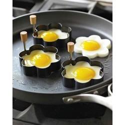 Bộ 4 Khuôn Trứng Inox Giá rẻ