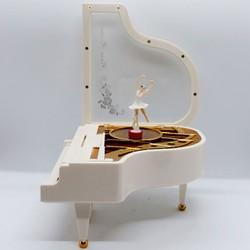 Quà tặng sinh nhật cho người yêu - Hộp nhạc Piano vũ công