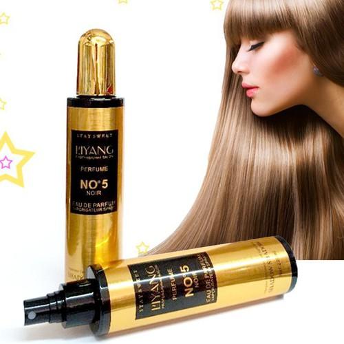 Xịt dưỡng tóc hương nước hoa Liyang No5