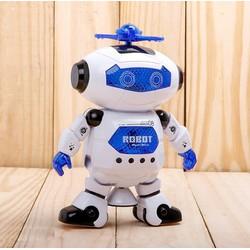 Robot nhảy múa phát nhạc xoay 360 độ