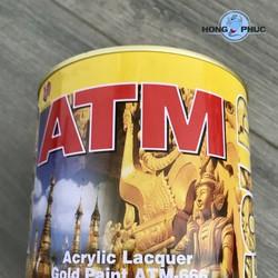 Sơn công nghiệp nhũ vàng ATM 666 875ml