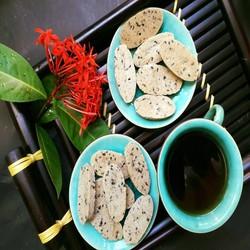 Bánh gạo lức Mè xốp