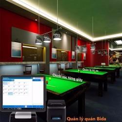 Phần mềm bán hàng Điều hành Bida – karaoke – spa