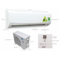 Máy lạnh Daikin FTKQ35SVMV - 1.5Hp