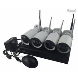 Bộ Kit Camera Không Dây NVR KIT 1.0 HD