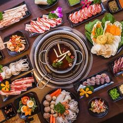 Buffet Nướng  Lẩu Hàn - Nhật Tại Nhà Hàng Grill  Cheer