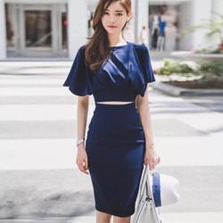 Đầm Ôm Body Khoét Eo Xinh Xắn