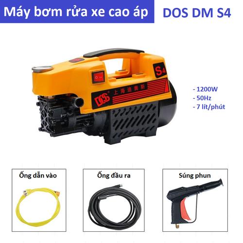 Máy rửa xe, máy rửa điều hòa áp lực cao DOS DM-S4