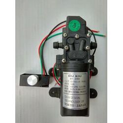 Bộ máy bơm mini 12v giá rẻ kèm chiết áp điều chỉnh lực bơm
