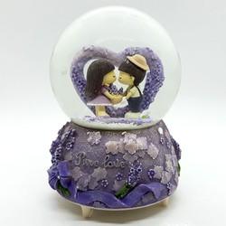Quà tặng cho bạn gái - Quả cầu tuyết Pure love