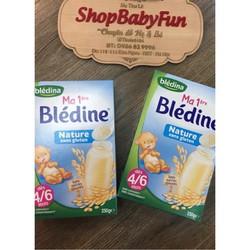 Bột pha sữa Bledina vị tự nhiên cho bé từ 4-6 tháng tuổi mẫu mới