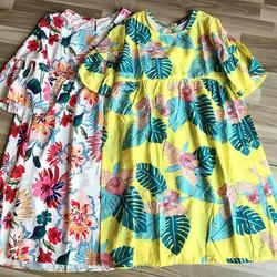 Váy Vàng + Váy Trắng Hoa