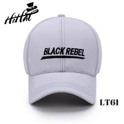 Mũ nón lưỡi trai Black rebel, nón lưỡi trai đẹp