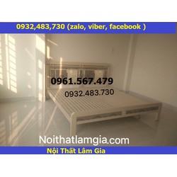 Giường sắt cao cấp 1m6x2m quận 2 TP HCM - 0932483730