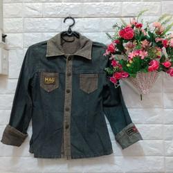 Thanh lí áo khoác jean QC siêu chất