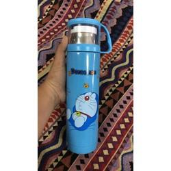 Bình giữ nhiệt Doraemon - Hello Kitty 550ml