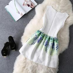 Đầm xoè tiểu thư