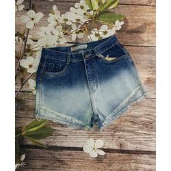 Quần sort jeans loang 2 màu